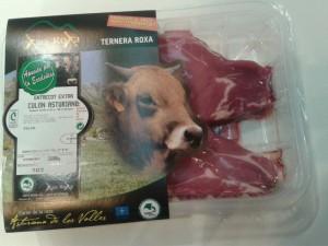 Carne Ternera Asturiana Xata Roxa envasada al vacío