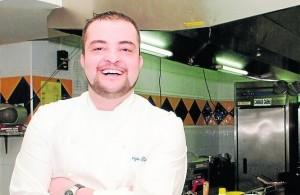 Cocinero Sergio Rama