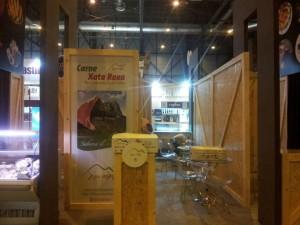 Stand de Xata Roxa en Gourmet 2014