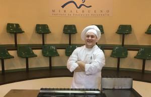 ganador del II Concurso de Cocina con Xata Roxa para Escuelas de Hostelería.
